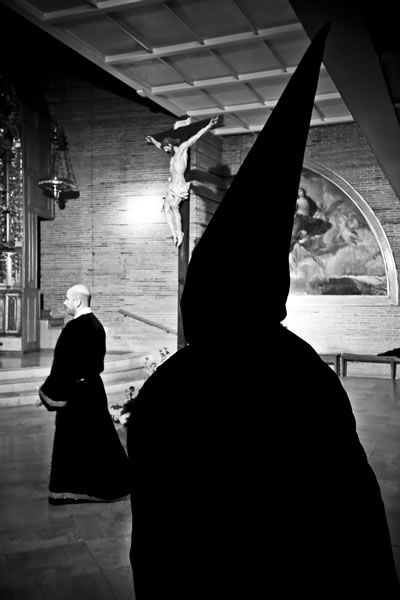 Via Crucis en la Iglesia Parroquial de Nuestra Señora de San Lorenzo