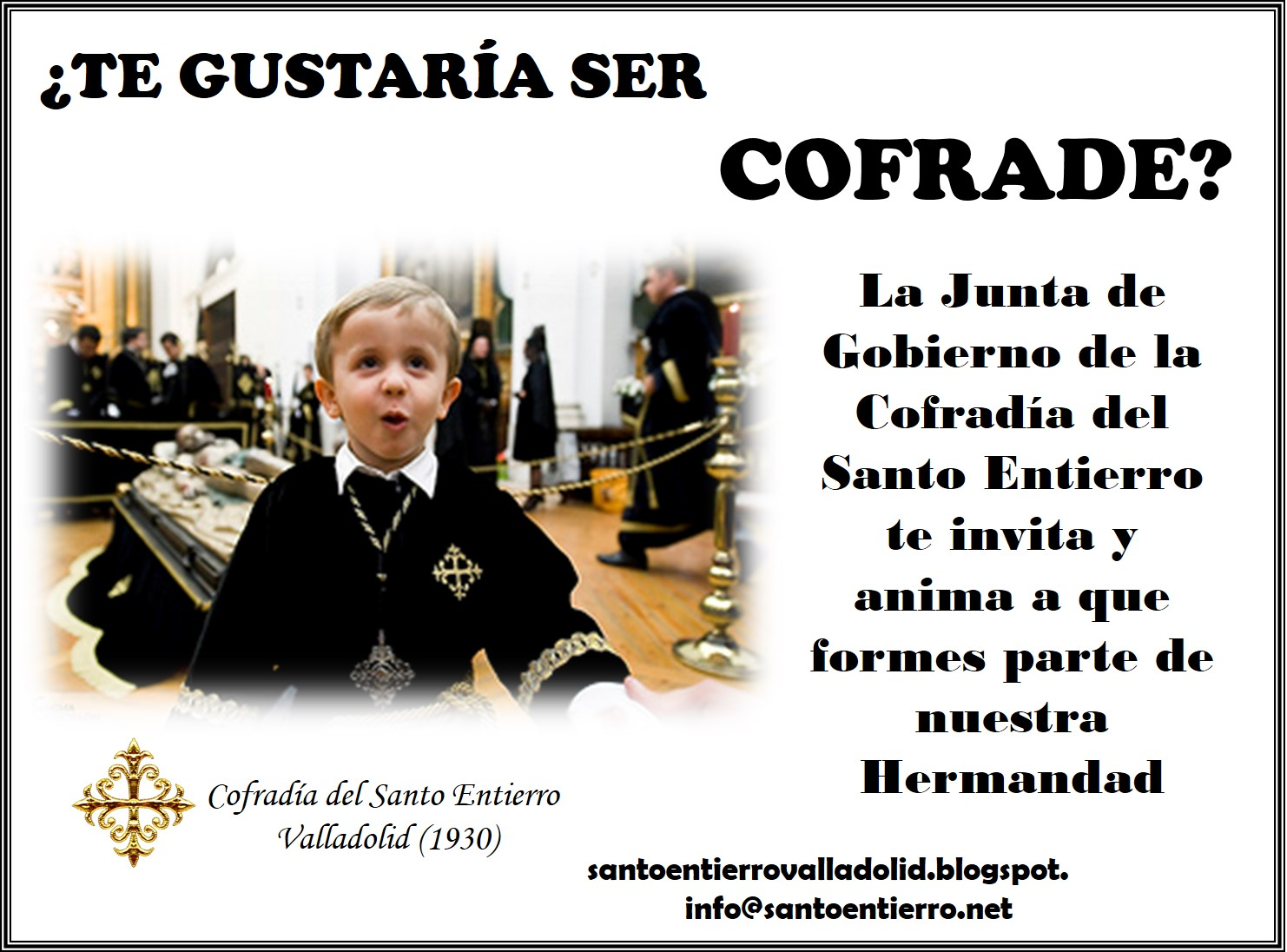 Cartel hazte cofrade 2 version 2